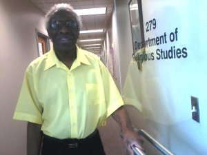 Dr. Tate was one of the first African-American studies professors at Missouri State. Photo courtesy of Minister Peoples