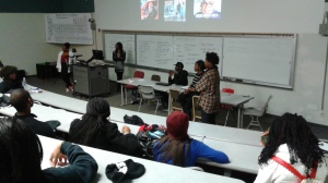 ASA members facilitated the discussion on the division facing Africans and African-Americans. Photo credit: The Black Bear